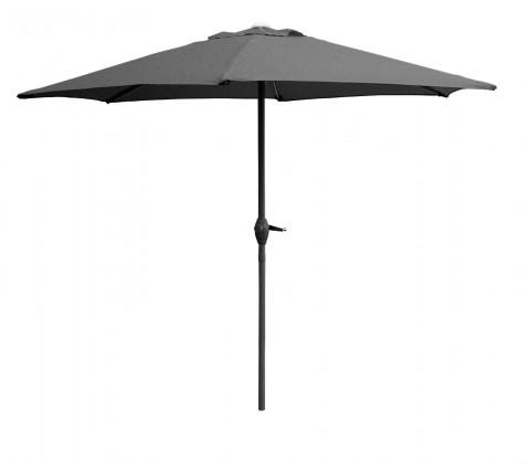 Slunečník Slunečník s kličkou 230 cm (antracit)