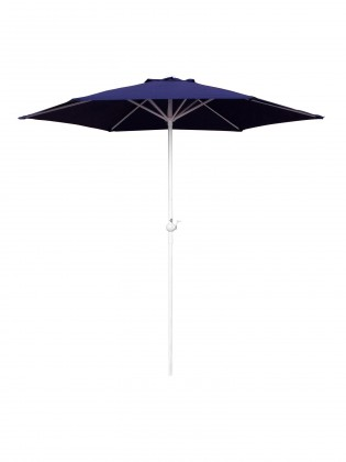 Slunečník Slunečník s kličkou 230 cm (modrá)