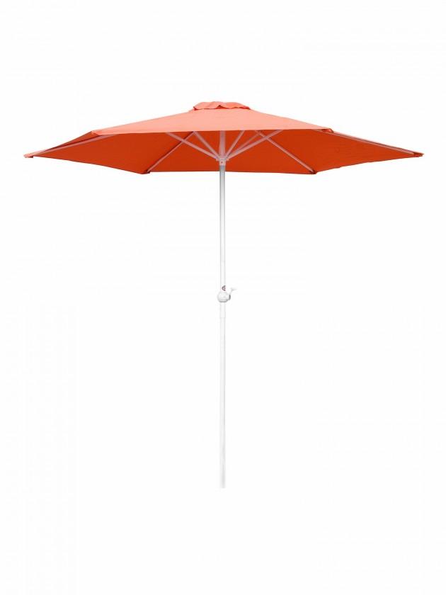 Slunečník Slunečník s kličkou 230 cm (oranžová)