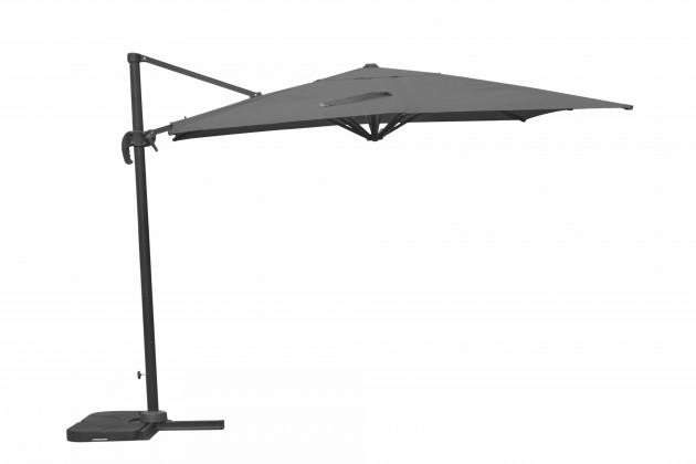 Slunečník Tucson - Slunečník závěsný, čtvercový, 300x300cm (antracit)