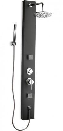 Soft 251k  Sprchový hydromasážní panel (černé)