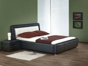 Soho - Postel 200x160, rám postele, ÚP, rošt (černo-bílá)
