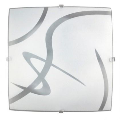Soley Square - Nástěnná svítidla, E27 (bílá/průsvitná)