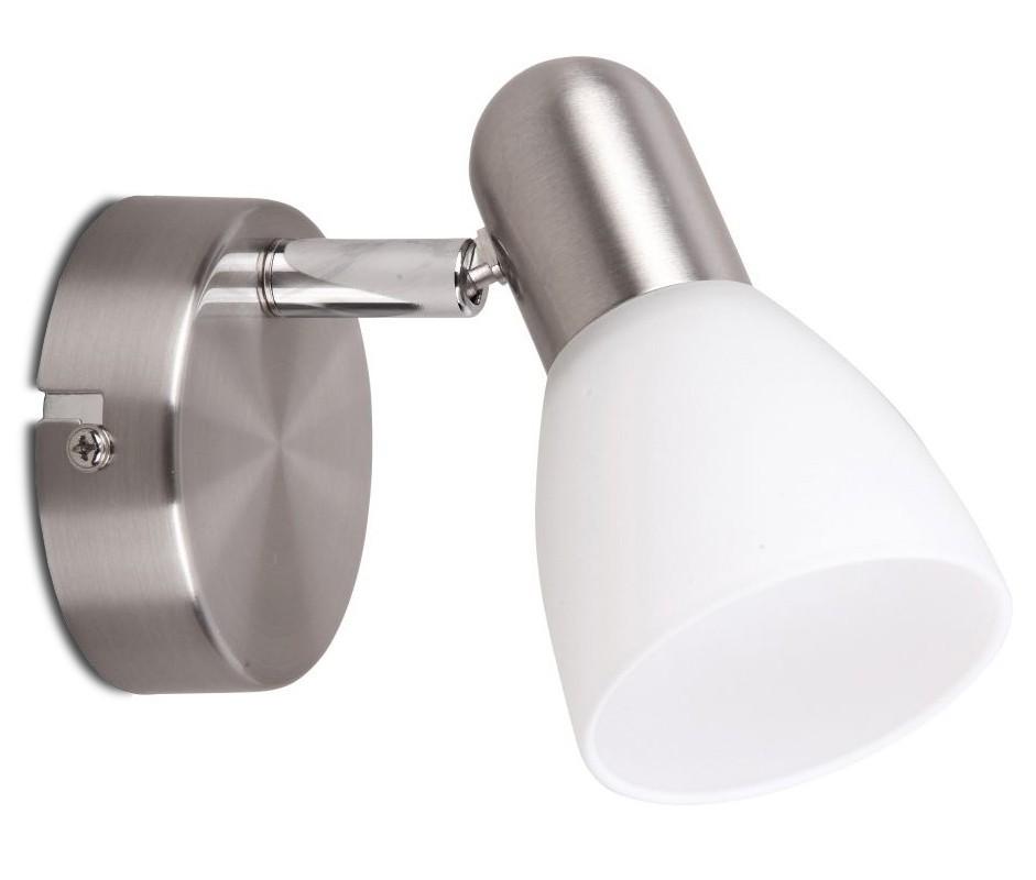 Soma - Nástěnné osvětlení, 6301 (saténově chromová/bílá)