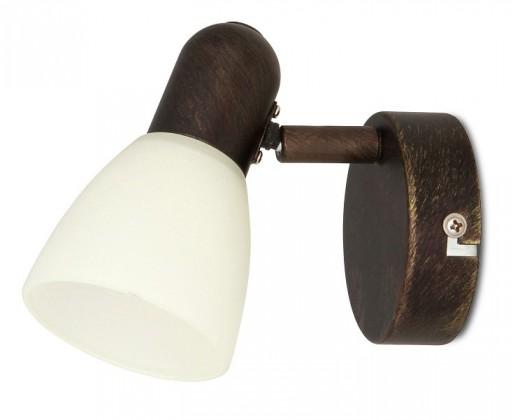 Soma - Nástěnné osvětlení, 6591 (antická hnědá/krémová)