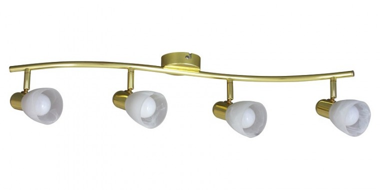 Soma - Stropní osvětlení, 6599 (zlatá/bílá alabastrová)