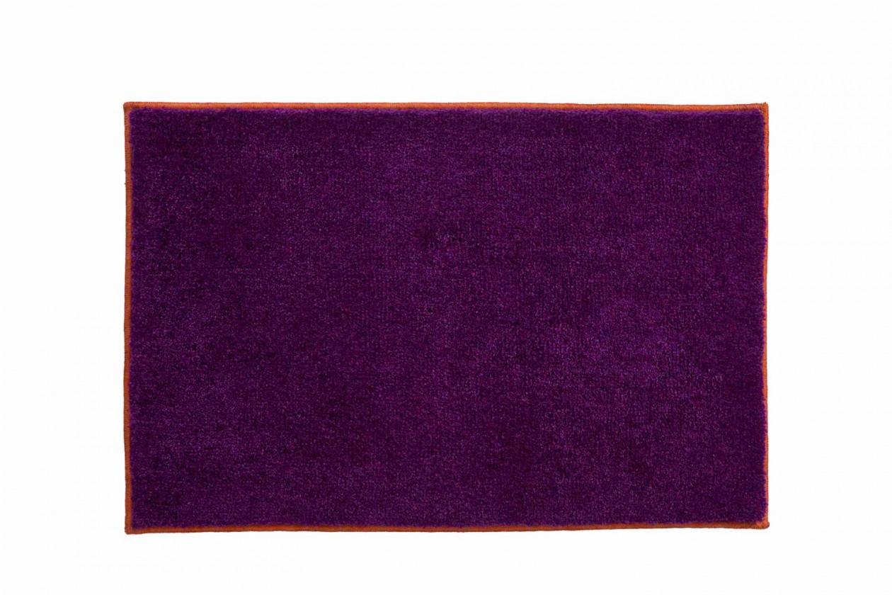 Soto - Koupelnová předložka 60x90 cm (purpurová-papaya)