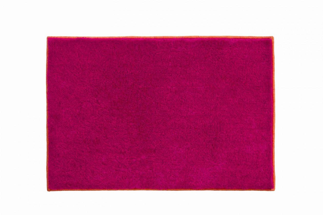 Soto - Koupelnová předložka 60x90 cm (růžová-oranžová)