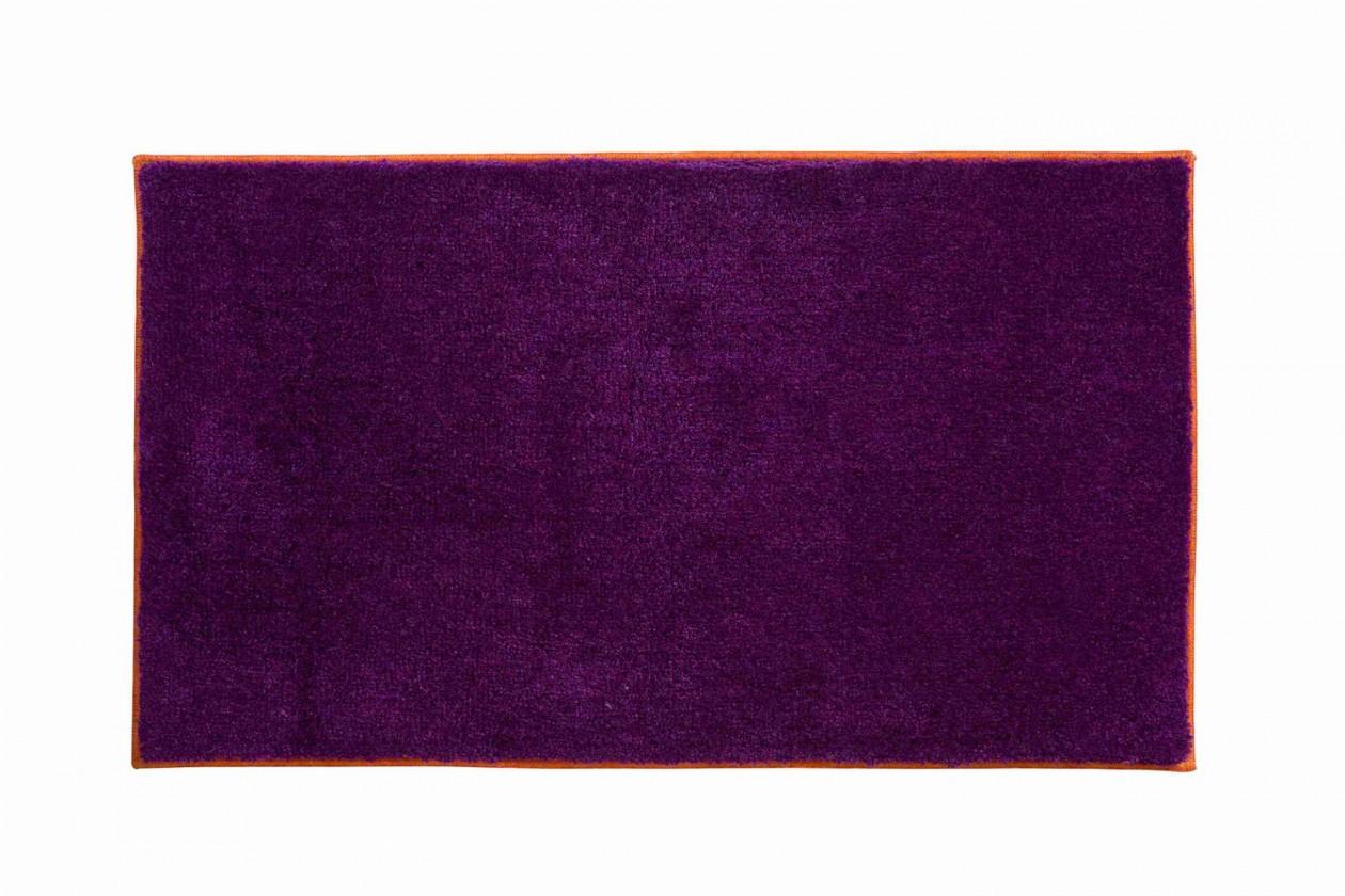 Soto - Koupelnová předložka 65x115 cm (purpurová-papaya)