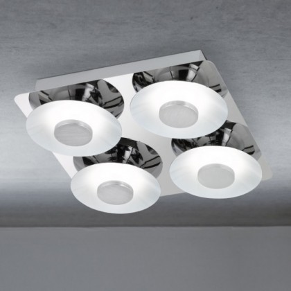 Space - Stropní osvětlení, LED (chrom)