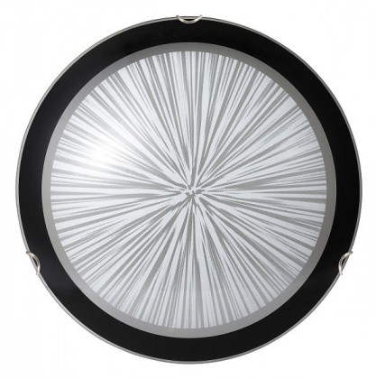 Sphere - Stropní osvětlení, E27 (bílá/černá )
