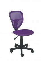 Spike - dětská židle (fialová)