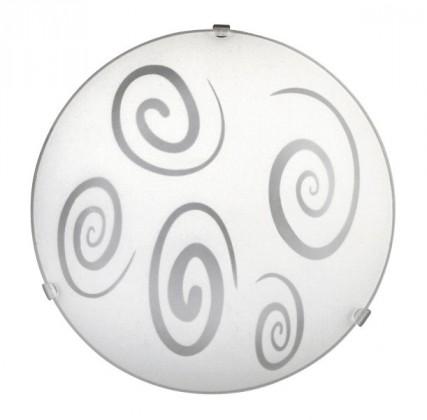 Spiral - Nástěnná svítidla, E27 (bílá/průsvitná)