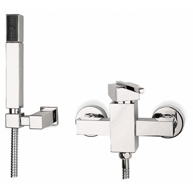 Sprchová baterie, příslušenství Cubec - Sprchová baterie včetně sprchového kompletu (chrom)