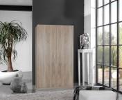 Sprint - skříň 175x90 cm,2x dveře (dub hrubá struktura)