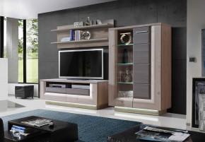 Stairs - Obývací stěna, TV stolek, police vitrína
