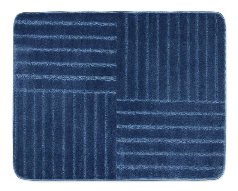 Standard - Koupelnová předložka 60x50 (modré pruhy)