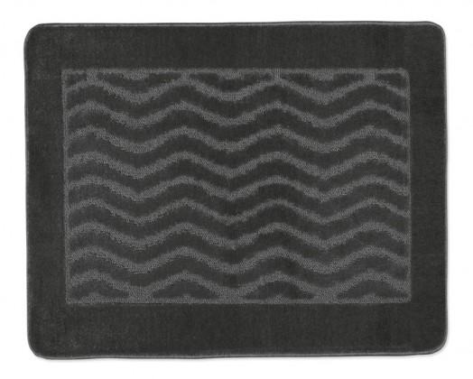 Standard - Koupelnová předložka 60x50 (šedé vlnky)