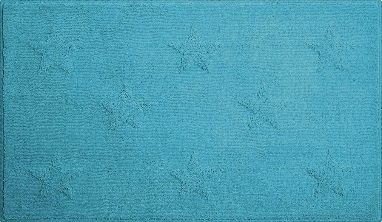 Starlets - Koupelnová předložka 60x90 cm (aqua)