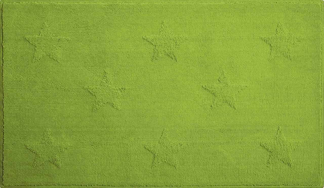 Starlets - Koupelnová předložka 60x90 cm (zelená)