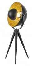 Stojací lampa Neven, kovová, reflektorová, 3-nožka, 60cm