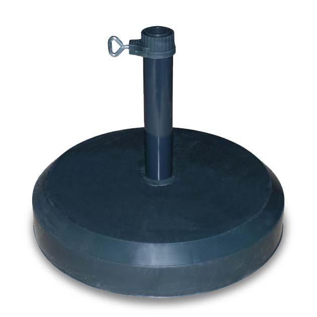Stojan ke slunečníku, betonový, 25 kg (antracit)