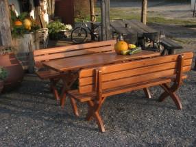 Strong masiv - Stůl (dřevo)