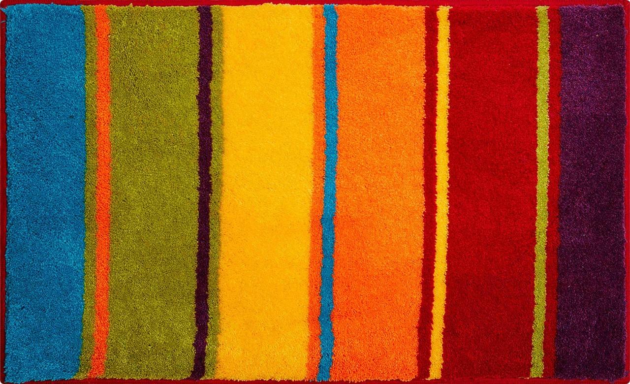 Summertime - Koupelnová předložka 65x115 cm (barvitá)