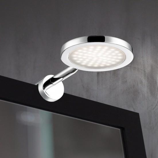 Suri - Nástěnné svítidlo, LED (chrom)