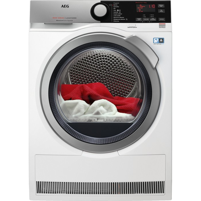 Sušičky prádla Sušička prádla AEG AbsoluteCare T8DEE68SC, A+++, 8 kg