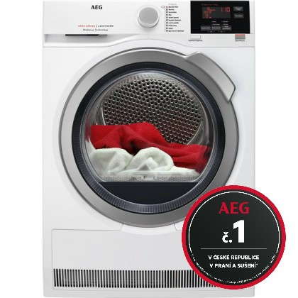 Sušičky prádla Sušička prádla AEG ProSense T6DBG28SC, B, 8 kg