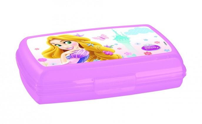 Svačinový box 0,6l - Princess (růžová)