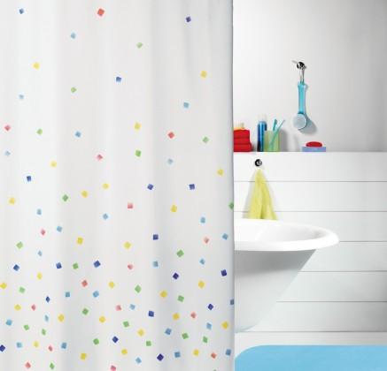Sweetie-Sprchový závěs 180x200(multicolor)