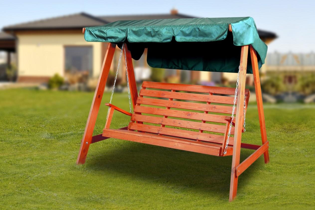 Swing 150 - Houpací lavice (mahagon)