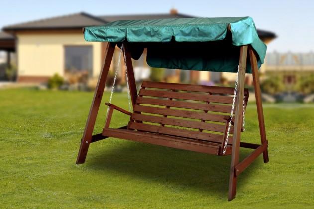Swing 150 - Houpací lavice (ořech)