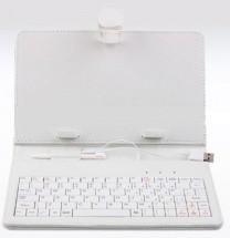 """""""Tablet pouzdro s klávesnicí OMEGA OCT7KBIB, 7"""""""" bílé ROZBALENO"""""""