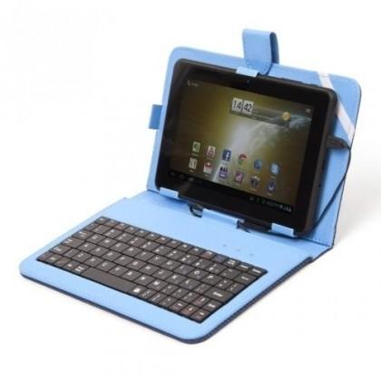 """""""Tablet pouzdro s klávesnicí OMEGA OCT7KBIB, 7"""""""" modré ROZBALENO"""""""