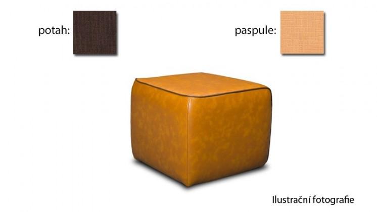 Taburet Case -(k:carezza-honeyB126,sk.3S/m:carezza-chocolate B138,sk.3S)