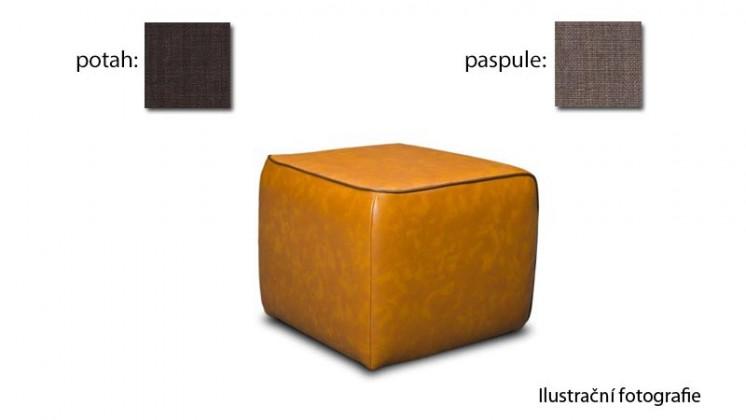 Taburet Case - (k:chili-mudd C217, sk.2s/m:chili-brown C222, sk.2s)