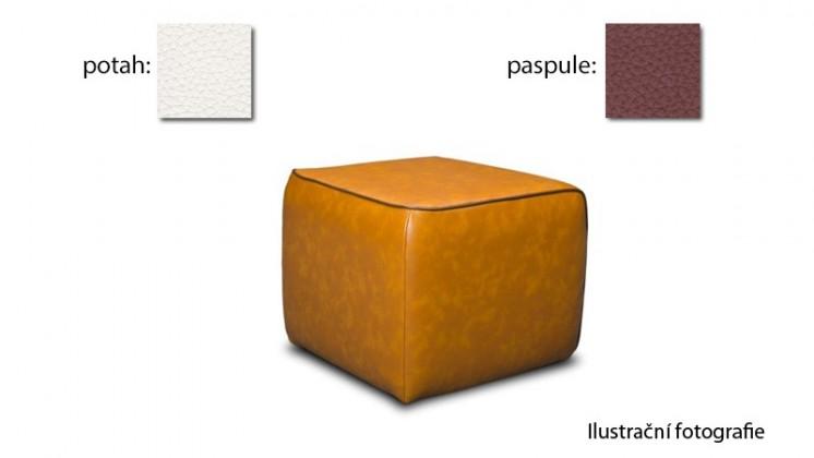 Taburet Case -(k:excellent-rust H362,sk.2s/m:excellent-white H350,sk.2s)