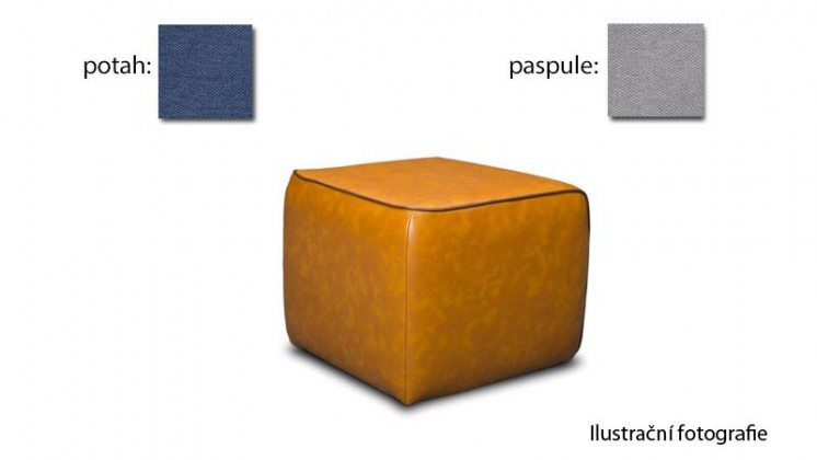 Taburet Case - (k:maison - grey E431, sk.2s/m:maison -navy E434, sk.2s)