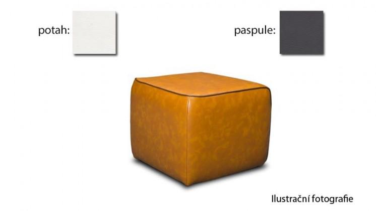 Taburet Case - (k:pulse-fango D208, sk. 2s/m:pulse-white D200, sk. 2s)