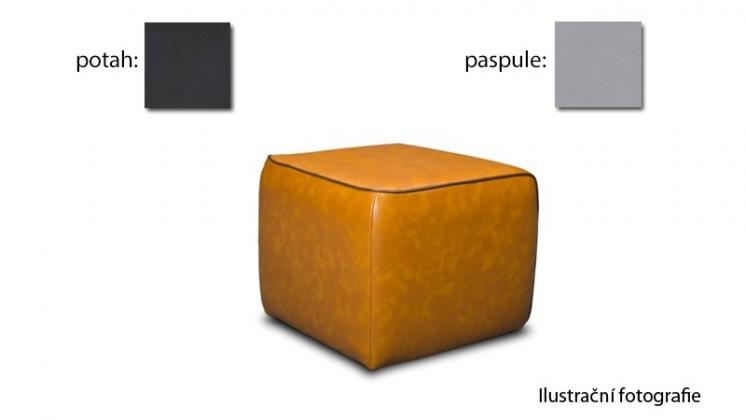 Taburet Case - (k:pulse-light grey D201,sk.2s/m:pulse-black D209,sk.2s)