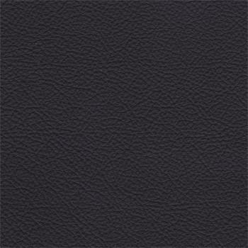 Taburet Enjoy - Taburet, kůže, kovové nohy (naturelle D 11011 black)