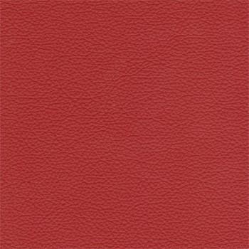 Taburet Enjoy - Taburet, kůže, kovové nohy (naturelle D 11191 red)
