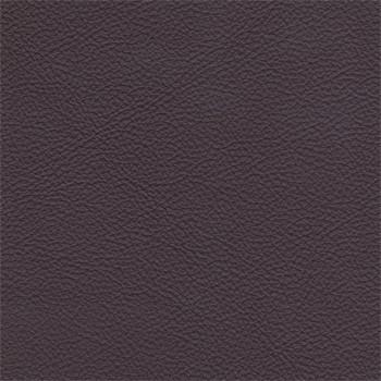 Taburet Enjoy - Taburet, kůže, kovové nohy (naturelle D 11211 aubergine)