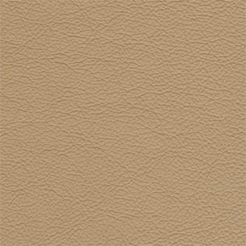 Taburet Enjoy -Taburet, kůže, kovové nohy (naturelle D11031 coffee milk)