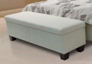 Taburet k posteli Exima (eko kůže)