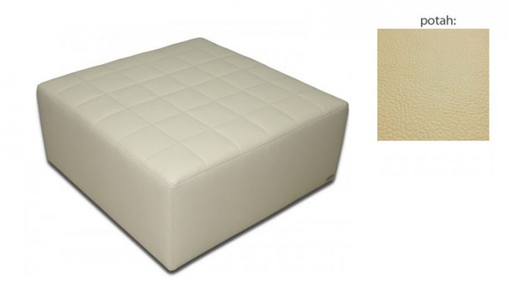 Taburet Taburet čtvercový (hermes cream)