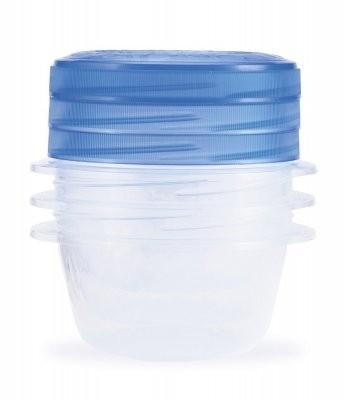 TAKÉ AWAY TWIST, 3x0,5l (plast,modrá)